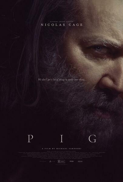 """Movie poster for """"PIG"""""""