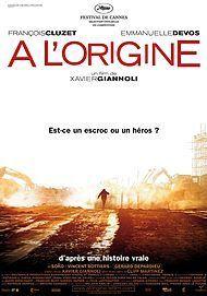 """Affiche du film """"A L'ORIGINE"""""""