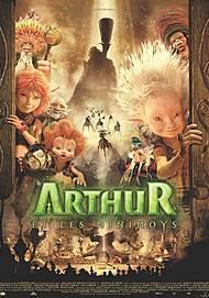 """Affiche du film """"ARTHUR ET LES MINIMOYS"""""""