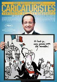 """Affiche du film """"CARICATURISTES : FANTASSINS DE LA DEMOCRATIE"""""""