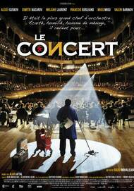 """Movie poster for """"LE CONCERT"""""""