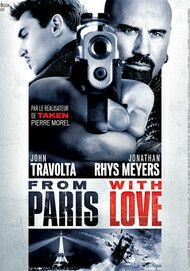 """Movie poster for """"FROM PARIS WITH LOVE"""""""