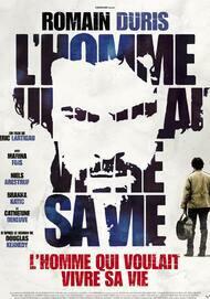 """Affiche du film """"L'HOMME QUI VOULAIT VIVRE SA VIE"""""""