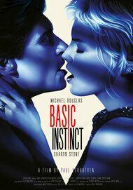 """Movie poster for """"BASIC INSTINCT"""""""