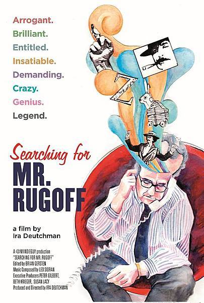 """Movie poster for """"SEARCHING FOR MR. RUGOFF"""""""