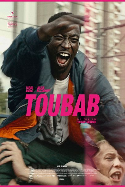 """Movie poster for """"TOUBAB"""""""