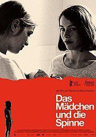 """Movie poster for """"DAS MÄDCHEN UND DIE SPINNE"""""""