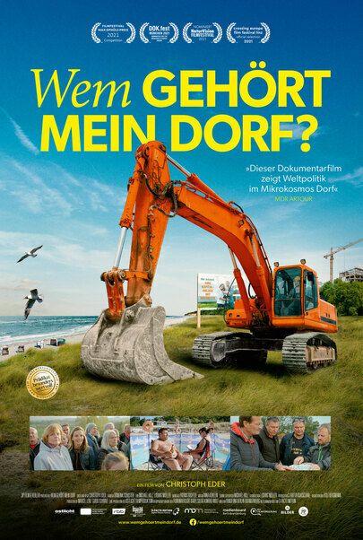 """Filmplakat für """"WEM GEHÖRT MEIN DORF?"""""""