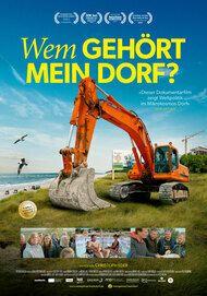 """Movie poster for """"WEM GEHÖRT MEIN DORF?"""""""