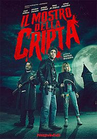 """Movie poster for """"THE CRYPT MONSTER"""""""