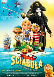 """Movie poster for """"Capitan Sciabola e il diamante magico"""""""