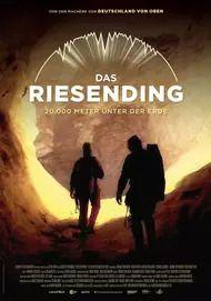 """Movie poster for """"DAS RIESENDING - 20.000 METER UNTER DER ERDE"""""""