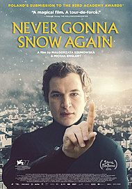 """Movie poster for """"NEVER GONNA SNOW AGAIN """""""