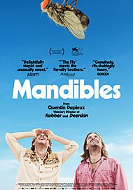 """Movie poster for """"MANDIBLES"""""""