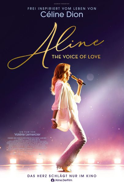 """Movie poster for """"ALINE"""""""