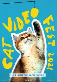 "Movie poster for ""CATVIDEOFEST 2021"""