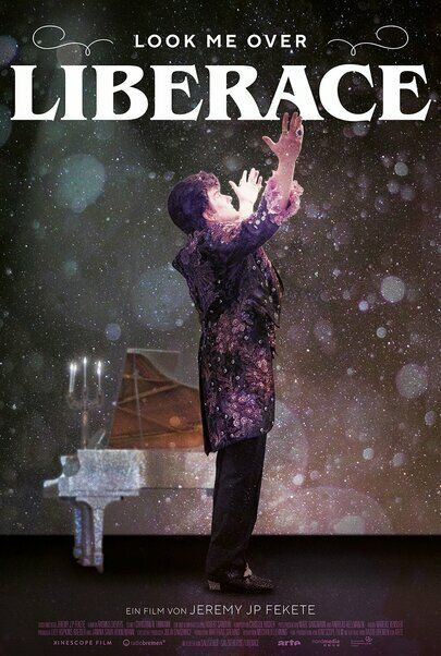 """Movie poster for """"LOOK ME OVER - LIBERACE"""""""
