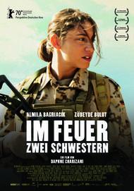 """Movie poster for """"IM FEUER - ZWEI SCHWESTERN"""""""