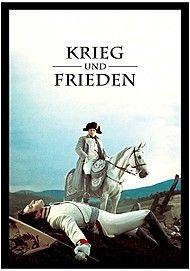 """Movie poster for """"KRIEG UND FRIEDEN """""""