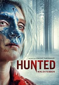 """Movie poster for """"HUNTED"""""""