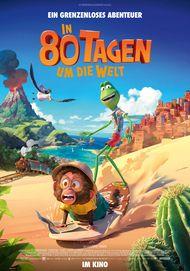 """Filmplakat für """"IN 80 TAGEN UM DIE WELT"""""""