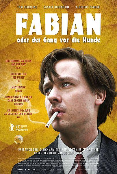 """Movie poster for """"FABIAN ODER DER GANG VOR DIE HUNDE"""""""