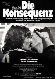 """Movie poster for """"DIE KONSEQUENZ"""""""
