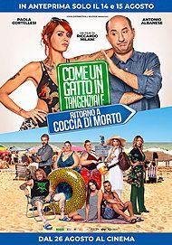 """Movie poster for """"Come un Gatto in Tangenziale - Ritorno a Coccia di Morto"""""""