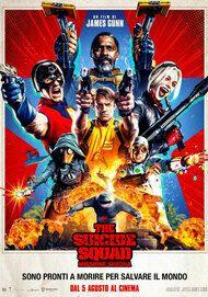 "Movie poster for ""The Suicide Squad - Missione Suicida"""
