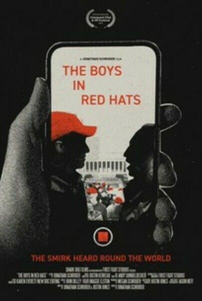 """Movie poster for """"THE BOYS IN RED HATS"""""""