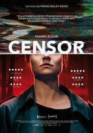 """Movie poster for """"CENSOR"""""""