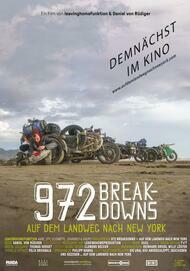 """Movie poster for """"972 BREAKDOWNS - FILMSTART IN ÖSTERREICH"""""""