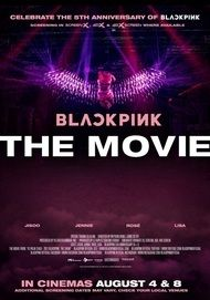 """Movie poster for """"BLACKPINK THE MOVIE"""""""