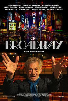 """Movie poster for """"ON BROADWAY"""""""