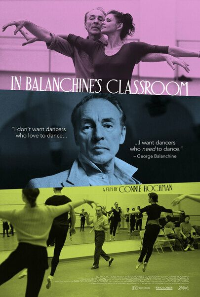 """Movie poster for """"IN BALANCHINE'S CLASSROOM"""""""