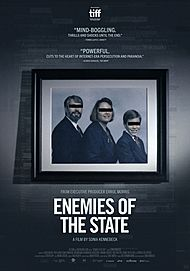 """Movie poster for """"ENEMIES OF THE STATE"""""""