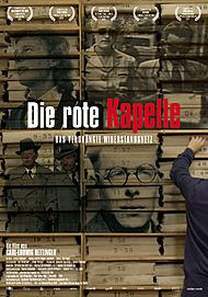 """Movie poster for """"DIE ROTE KAPELLE"""""""