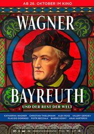 """Filmplakat für """"WAGNER, BAYREUTH UND DER REST DER WELT"""""""