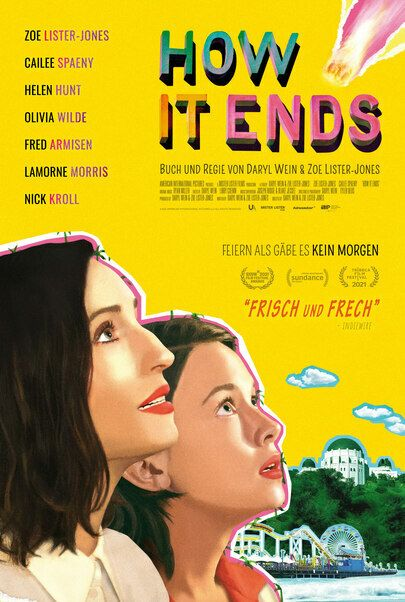 """Movie poster for """"HOW IT ENDS"""""""