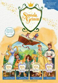 """Movie poster for """"SIMSALAGRIMM"""""""