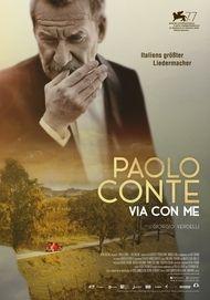 """Filmplakat für """"PAOLO CONTE - VIA CON ME"""""""