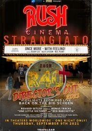 """Movie poster for """"RUSH CINEMA STRANGIATO: DIRECTOR'S CUT"""""""