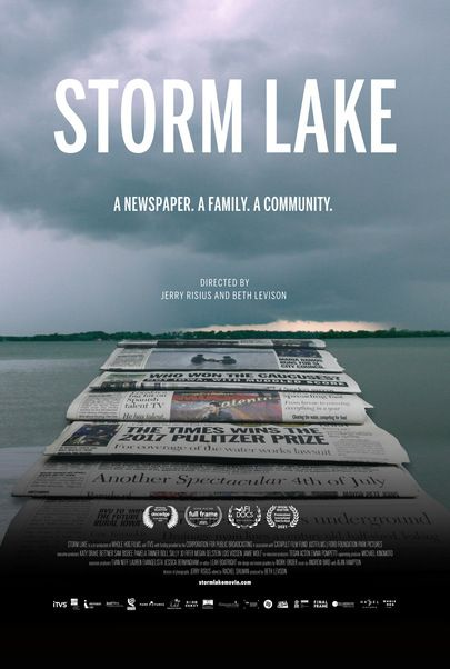 """Movie poster for """"STORM LAKE"""""""