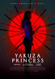 "Movie poster for ""YAKUZA PRINCESS"""