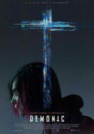 "Movie poster for ""DEMONIC"""