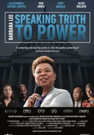 """Movie poster for """"BARBARA LEE: SPEAKING TRUTH TO POWER"""""""