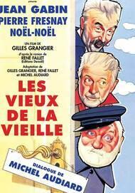 """Movie poster for """"LES VIEUX DE LA VIEILLE"""""""