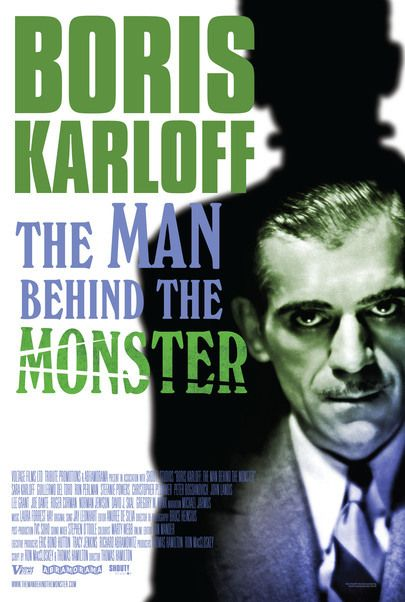 """Movie poster for """"BORIS KARLOFF: THE MAN BEHIND THE MONSTER"""""""