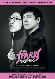 """Movie poster for """"The Sparks Brothers"""""""