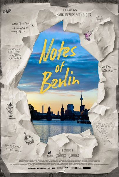 "Filmplakat für ""NOTES OF BERLIN"""